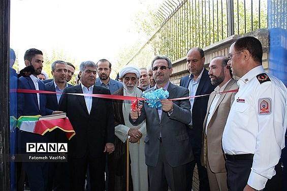 مراسم افتتاح پروژههای عمرانی شهرستان اسلامشهر با حضور استاندارتهران