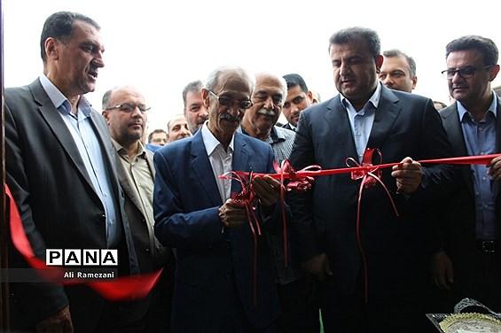 آیین بهرهبرداری از بهسازی ورزشگاه شهید وطنی قائمشهر