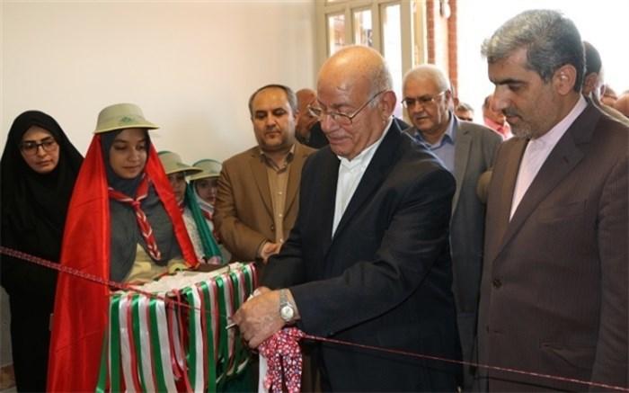 افتتاح مدرسه