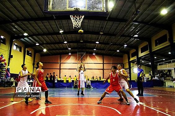 مسابقات بسکتبال سه به سه المپیاد استعدادهای برتر ورزش کشور در ارومیه