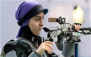 آرمینا صادقیان دانش آموز ملی پوش ایلامی دومین سهمیه المپیک را از ان خود کرد