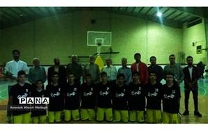 راهیابی تیم بسکتبال جوانان کازرون به مسابقات استانی