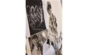 نمایشگاه طراحی ونقاشی « گلهای عشق» در نیشابور گشایش یافت