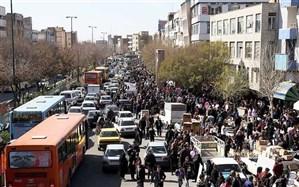 کاهش 23 تا 27 درصدی تردد در بافت مرکزی تبریز پس از اجرای طرح زوج و فرد