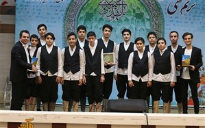 نوجوانان مازندران مقام دوم جشنواره سراسری سرود ترنم الهی را به دست آوردند