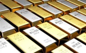 رشد قیمت جهانی نقره دو برابر طلا شد