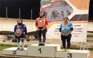 کسب برنز رقابت های پیست توسط بانوی دوچرخه سوار تیم اعتماد کالا یزد