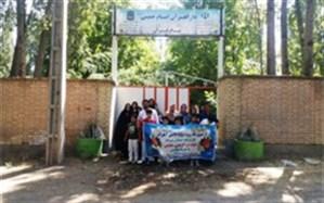 برگزاری اردوی یک روزه پسران شاهد و ایثارگر در خوی