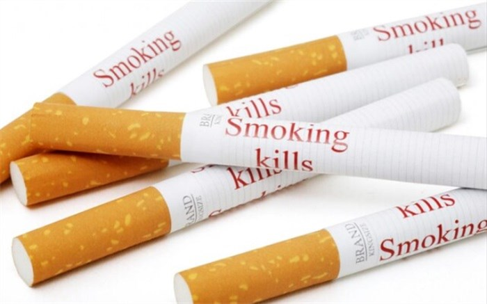 هشدار روی سیگار