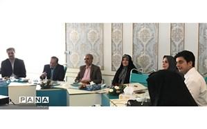 حضور مدیر منطقه1 در جلسه مدیران ایستگاه های پژوهش منطقه