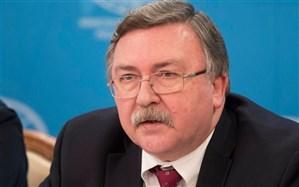 توضیح اولیانوف درباره بیانیه سه کشور اروپایی