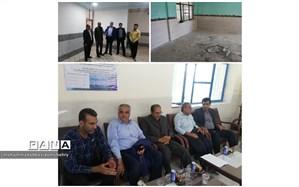 مانور پروژه مهر98 در مدارس استان هرمزگان برگزارشد