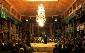 تعزیه خوانی در حسینیه تاریخی روستای براغان  برگزار میشود