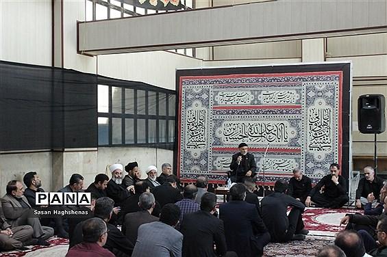 برگزاری مراسم عزاداری ابا عبدالله حسین(ع) درفرمانداری اسلامشهر