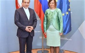 رایزنی عراقچی با معاون وزیر خارجه اسلوونی