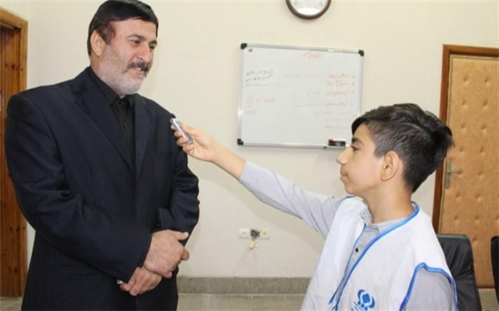 مصاحبه کاظمی