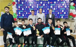 قهرمانی تیم بدمینتون کرمانشاه در دومین المپیاد استعدادهای برتر ورزشی کشور