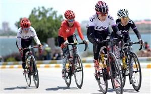 کسب قهرمانی  لیگ برتر دوچرخه سواری بانوان کشورتوسط  تیم ترمه دستجردی یزد