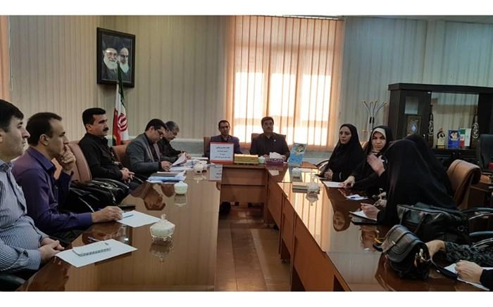 برگزاری جلسه به میزبانی سازمان دانش اموزی نلحیه ۳ بارمدارس دولتی عادی