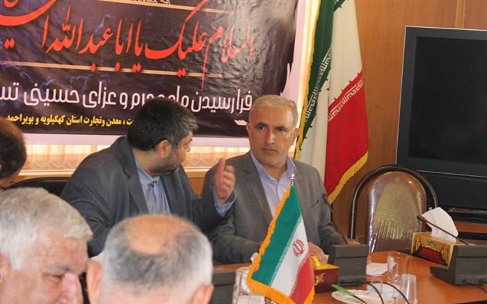 رییس سابق سازمان صمت استان کهگیلویه و بویراحمد : مسله شن و ماسه از مسایلی بود که بسیار حوزه کاری ما را تحت شعاع قرار داده بود