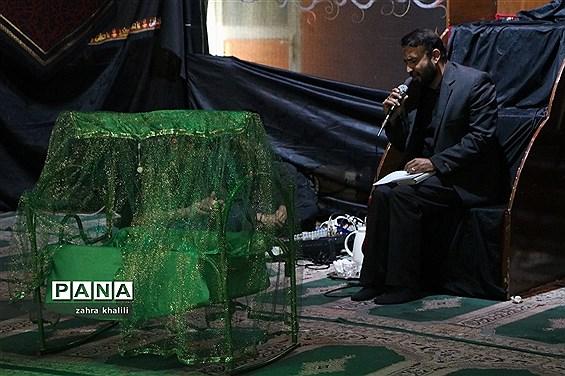 پانزدهمین همایش شیرخوارگان حسینی در حسینیه الزهرا (س) در شیراز