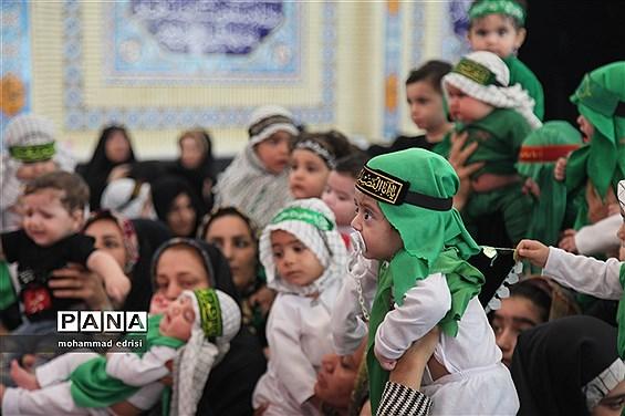 همایش بزرگ شیرخوارگان حسینی در بخش خِشت شهرستان کازرون
