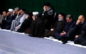 اولین شب مراسم عزاداری حضرت اباعبدالله الحسین (علیهالسلام) در حسینیه امام خمینی