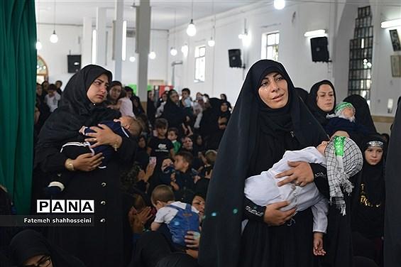 برگزاری مراسم بزرگداشت مقام حضرت علی اصغر(ع) در فیروزکوه