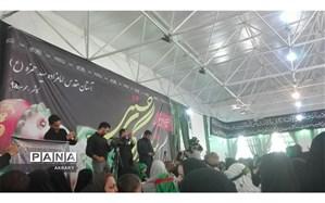 برگزاری همایش شیرخوارگان حسینی در امامزاده سیدحمزه (ع) کاشمر