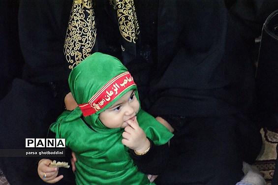 مراسم شیرخوارگان حسینی در استان یزد