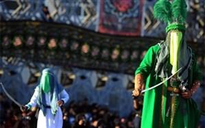 44 اجرای تعزیه در ۳ فرهنگسرا و میدان آیینی امام حسین(ع)