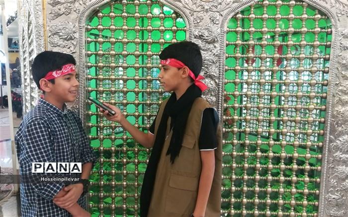 همایش احلی من العسل در امامزادگان باقریه شهرستان بیرجند
