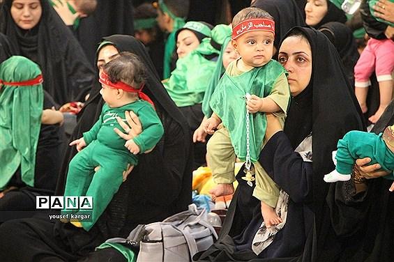 شیرخوارگان حسینی در حسینیه آقا استان یزد