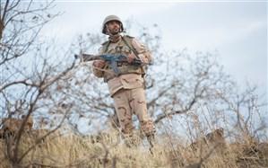 شهادت یک مرزبان در درگیری مسلحانه با گروهک معاند در مریوان