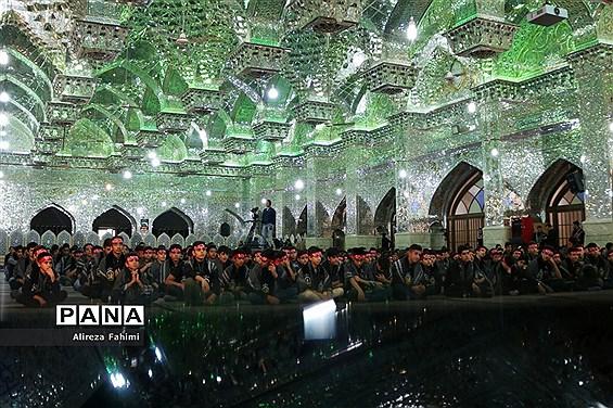 هفتمین  سوگواری احلی من العسل  در شیراز
