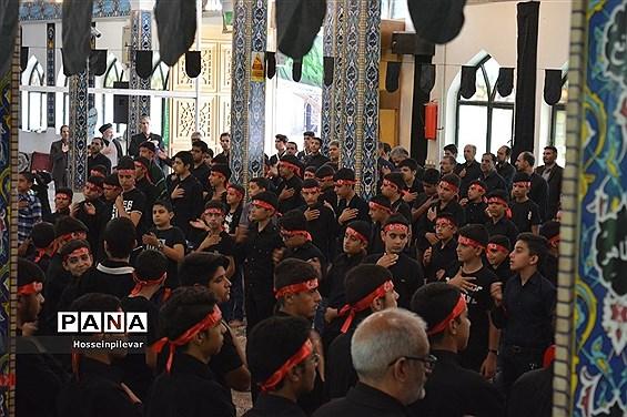 سوگواره احلی من العسل در امامزادگان باقریه شهرستان بیرجند