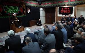 برگزاری مراسم عزاداری حضرت اباعبدالله الحسین (ع) با حضور روحانی