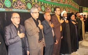 """آئین سوگواره دانش آموزی """"احلی من العسل"""" با حضور تشکل  پیشتازان در یاسوج برگزار شد"""