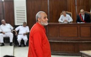 رهبر اخوان المسلمین مصر به حبس ابد محکوم شد