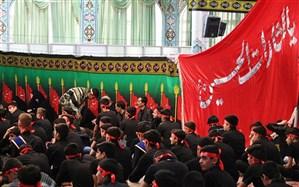 نوجوانان عاشورایی استان مرکزی فریاد بلند «لبیک یا حسین» سر دادند