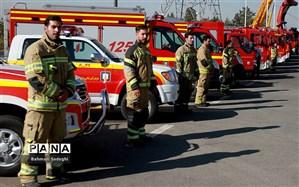 استقرار ۲۶۰ آتشنشان در تهران در روزهای عاشورا و تاسوعا