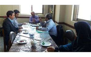 برگزاری جلسه کارگروه ترویج فرهنگ ایثار و شهادت شورای پروژه مهر استان زنجان