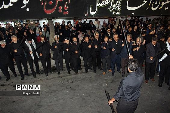 مراسم شاه حسین گویان در تبریز