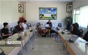 جلسه شورای دانش آموزی استان  چهارمحال وبختیاری برگزار شد