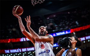 جام جهانی بسکتبال؛ آسمانخراشهای ایران المپیکی شدند