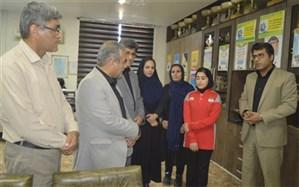 تجلیل از قهرمان ملی و بین المللی تنیس روی میز استان بوشهر