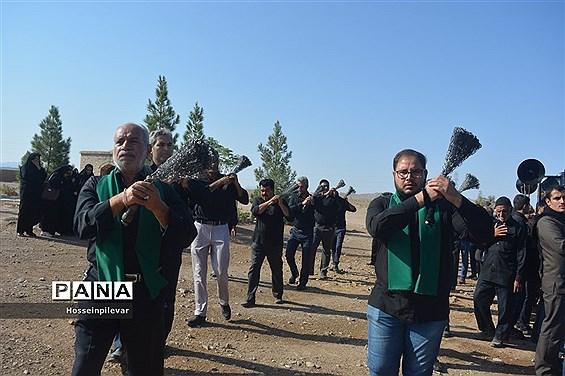 حرکت هیات های عزاداری در صبح تاسوعا در شهرستان خوسف