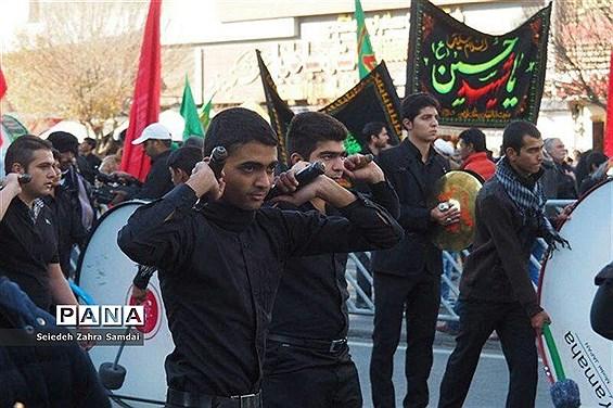 عزاداری تاسوعای حسینی درشهرستان ملارد