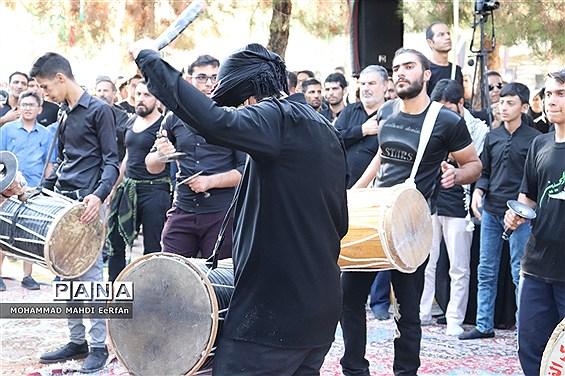 میثاق مردم آباده باشهیدان در تاسوعای حسینی (ع)