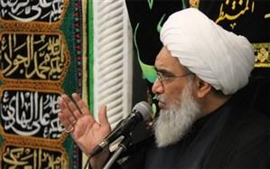 حضور آیت الله صفایی بوشهری در مراسم عزاداری مساجد بوشهر در شب عاشورا